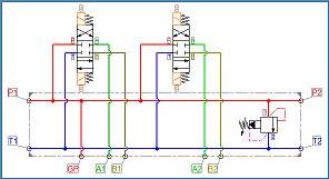 barmanifoldschematic png rh elitemanifolds com hydraulic manifold schematic